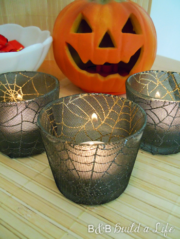 Spooky Candle Craft @ BAndBBuildALife.com