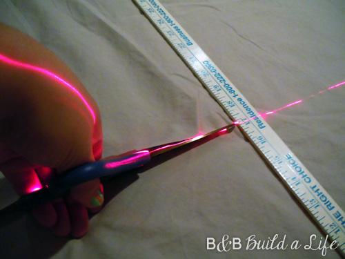 flange pillow tutorial @ BandBBuildALife.com