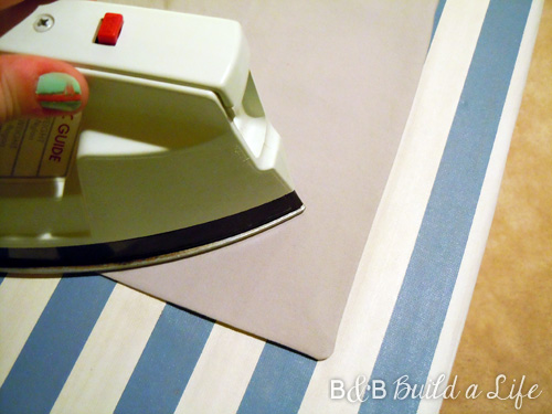 flange pillow tutorial @ BandBBuildALife.com