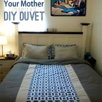 The story of How I Met Your Mother's Duvet – A DIY Duvet Cover Part 2