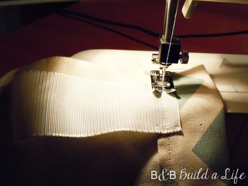 sewing back tabs distance @ BandBBuildALife.com