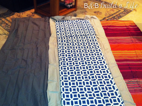 How I Met Your Mother's Duvet - Piecing together @ BandBBuildALife.com