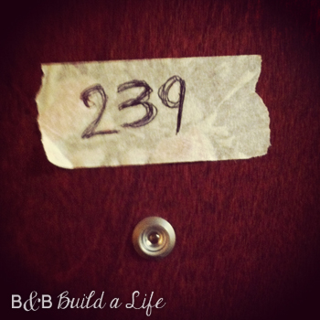 DIY Door # @ BandBBuildALife.com