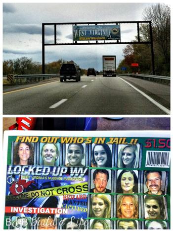 West Virginia on our way to Cincy @ BandBBuildALife.com