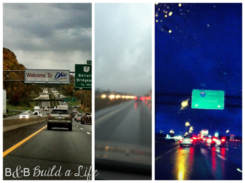 Rainy Welcome to Ohio @ BandBBuildALife.com
