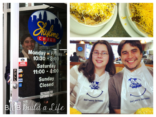 skyline chili @ BandBBuildALife.com