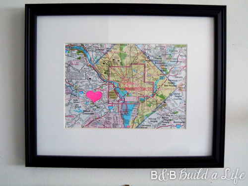 DC love map @ BandBBuildALife.com