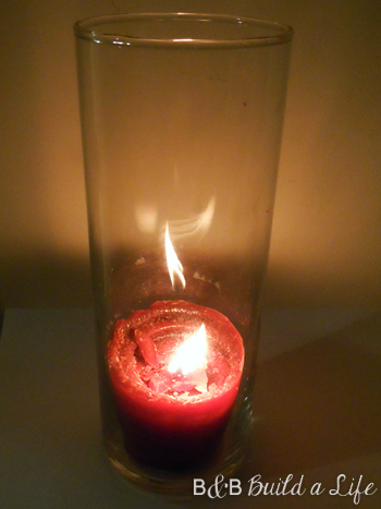 broken yankee candle fix @ BandBBuildALife.com