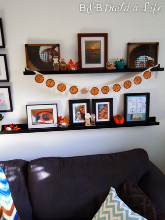 Thanksgiving Decorations DIY @ BandBBuildALife.com