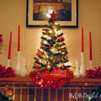 Merry Milk Glass Mantle