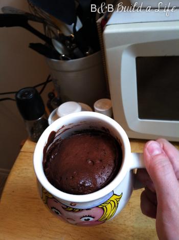 mug brownie @ BandBBuildALife.com