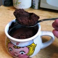 Microwavable Brownies ~ Post-election Comfort Food