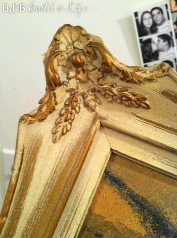 antique frame @ BandBBuildALife.com