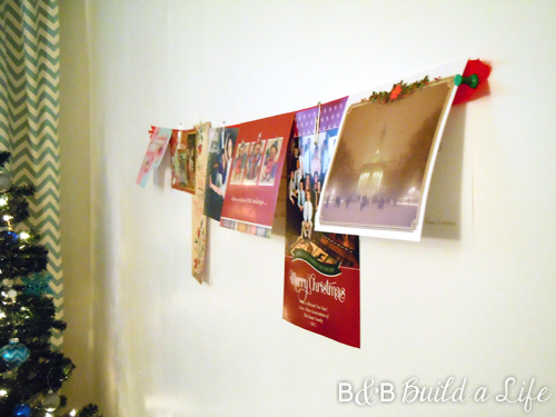 greeting card hanger @ BandBBuildALife.com