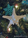 starfish on the christmas tree @ BandBBuildALife.com