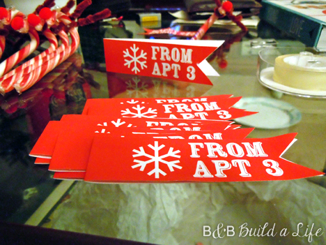 rudolph candy cane treat tags @ BandBBuildALife.com