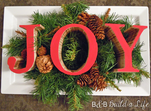JOY cut outs @ BandBBuildALife.com