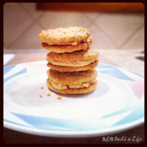 homemade nutter butter cookies @ BandBBuildALife.com