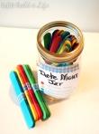 how to make a Date Night Jar @ BandBBuildALife.com