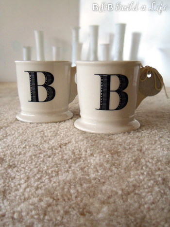 B&B Anthro Mugs @ BandBBuildALife.com