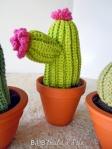 crochet cactus @ BandBBuildALife.com