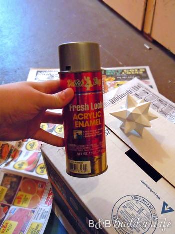 spray paint Target @ BandBBuildalife.com