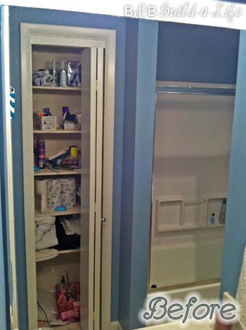 messy closet @ BandBBuildALife.com