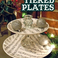 The Tiers of Gifting ~ Or, a DIY Tiered Platter
