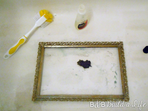 rusty frame restoration @ BandBBuildALife.com