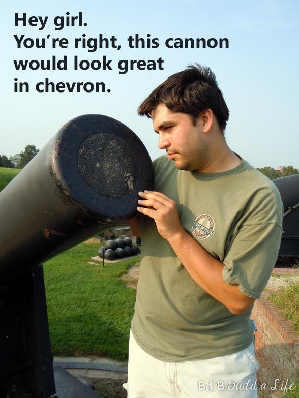 Hey girl Cannon chevron @ BandBBuildALife.com