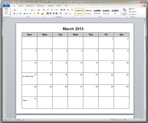 I can type into calendar i can type into calendar type in for Calendar template that you can type in