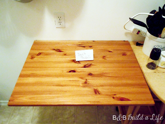 butcher block care and cleaning @ BandBBuildALife.com