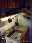 Kitchen task light @ BandBBuildALife.com