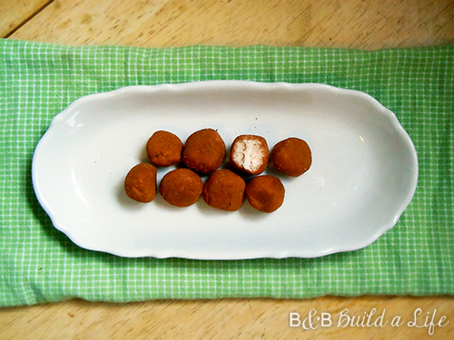 irish potato candy @ BandBBuildALife.com