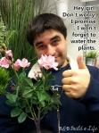 Hey Girl Water the Plants @ BandBBuildALife.com
