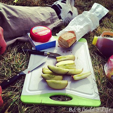 picnic lunch in schenley park @ BandBBuildALife.com