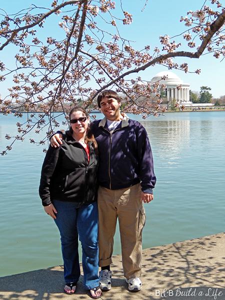 cherry blossom festival in DC @ BandBBuildALife.com