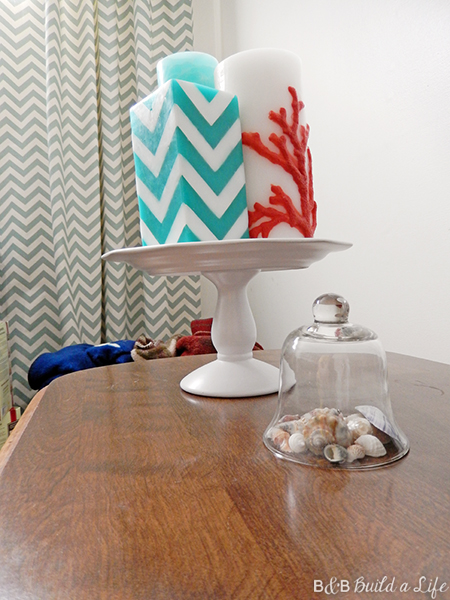 knock off decor target candle stand @ BandBBuildALife.com
