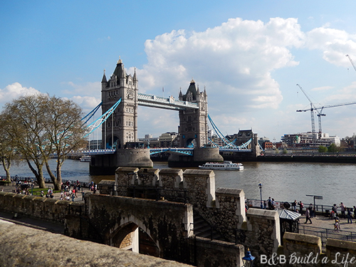 tower of London @ BandBBuildALife.com