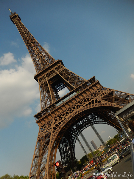 Eiffel Tower @ BandBBuildALife.com