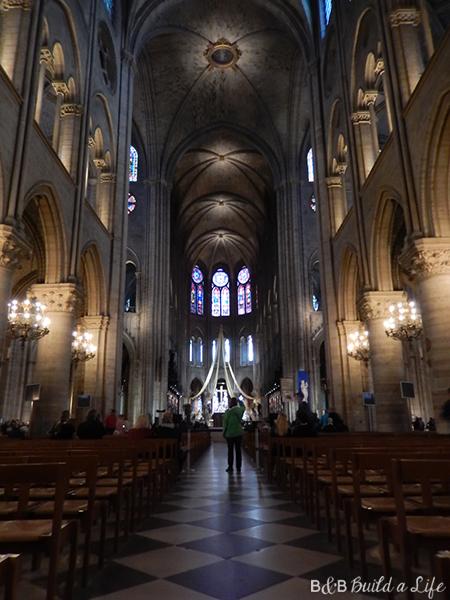 Notre Dam in Paris @ BandBBuildALife.com