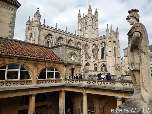 roman baths of Bath @ BandBBuildALife.com