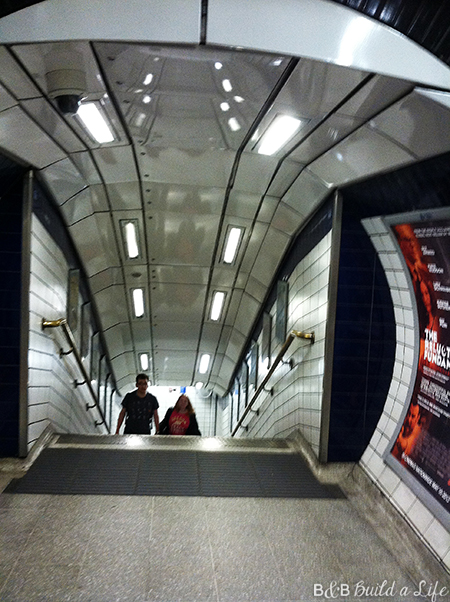 London Underground @ BandBBuildALife.com