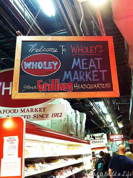 Wholey's Fish Market in Pittsburgh's Strip District @ BandBBuildALife.com