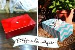 Pottery Barn Box revamped @ BandBBuildALife.com