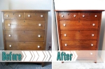 craigslist shopping for a dresser and restoring it at BandBBuildALife.com