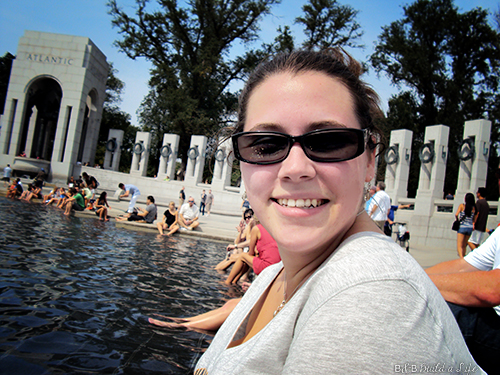 Passport to Our National Parks Washington DC -- WWII Memorial @ BandBBuildALife.com