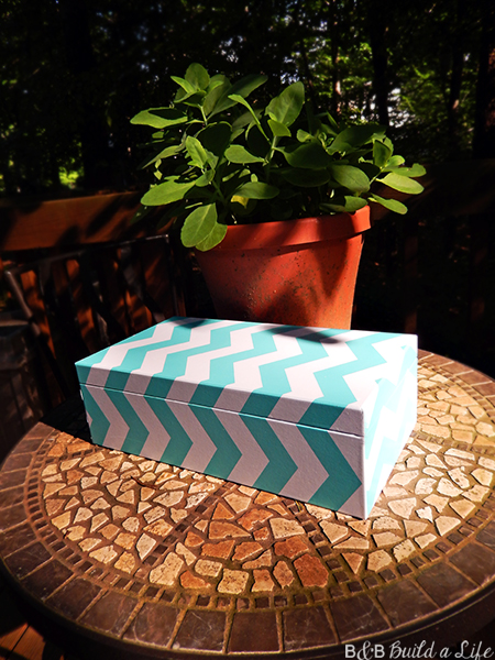 Pottery Barn Box revamped @ BandBBuildALife.com