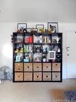 expedit bookshelf style inspiration at BandBBuildALife.com