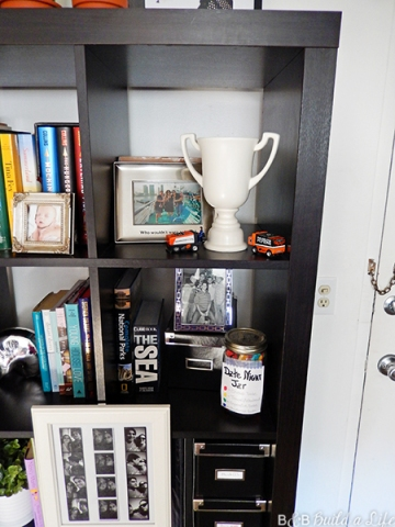 expedit bookshelf style inspiration at BandBBuildALife.com